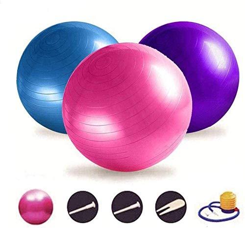 Yoga Ball Verdickung explosionsgeschützte Fitnessball 55 6575 cm explosionsgeschützter Fitnessball und Pumpe Swiss Ball Yoga Ball Stuhl, kann im Fitnessstudio und zu Hause verwendet werden, Größe: 75