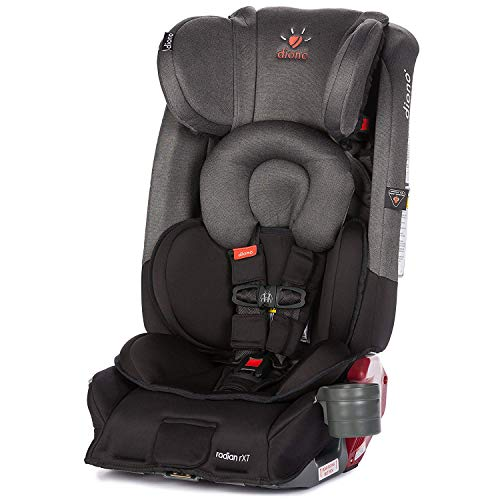 Diono Radian RXT All-in-One Convertible Car Seat, For Children from Birth to 120 Pounds, Black Mist (Discontinued by...