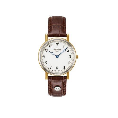 Bruno Söhnle Damen Analog Quarz Uhr mit Leder Armband 17-23110-920