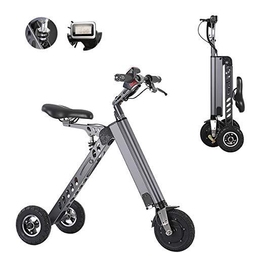 PXQ Bicicletas eléctricas Plegables Bicicleta 36V 7.2 AH 250W Smart Electronic Vehicle...