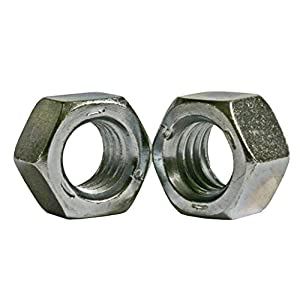Steel Flange Nut Self-Locking Serrated Flange Pack of 25 1//2-13 Threads Zinc Plated Finish Right Hand Threads Grade 2