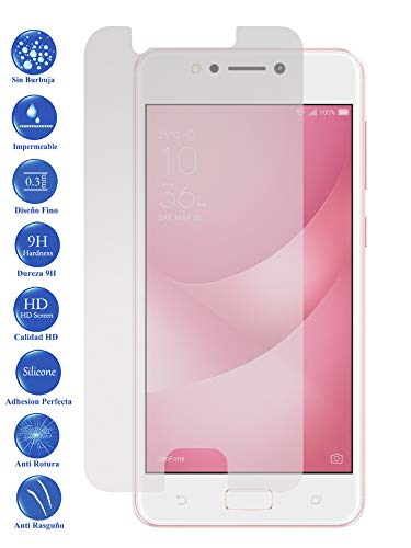 Todotumovil Protector de Pantalla ASUS Zenfone 4 MAX ZC520KL de Cristal Templado Vidrio 9H para movil