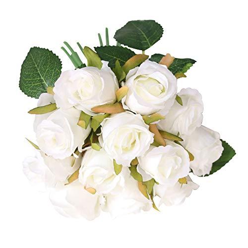 newhashiqi Rosenstrauß, künstliche Rose, Bonsai, Hochzeit, Party-Dekoration