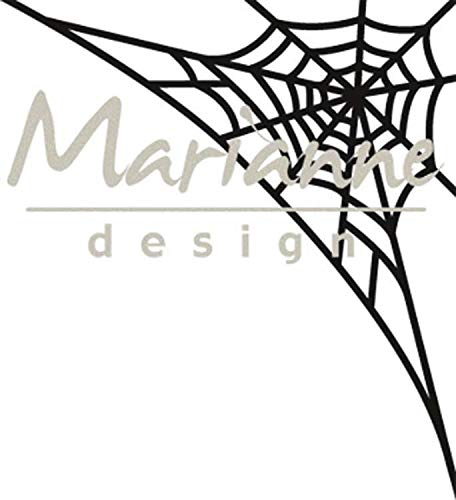 Marianne Design Craftables Spiderweb snijden en embossing sjabloon voor Halloween Craft Projects