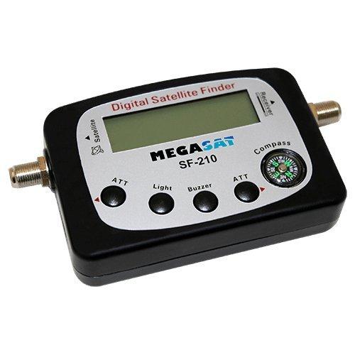 MegaSat 1200577 Satfinder SF-210 Silber