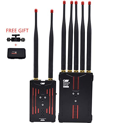 CVW Crystal Video Technology Pro200 Wireless HD Multifunctional Video Transmission System,2-channel wireless video transmission,Movie/TV program making, Sports broadcasting, Wedding & Conference, etc.