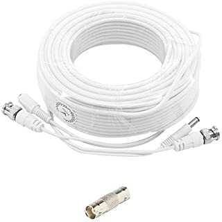 High Quality 180ft White Premium Surveillace Thick Extension Cables for Defender Systems