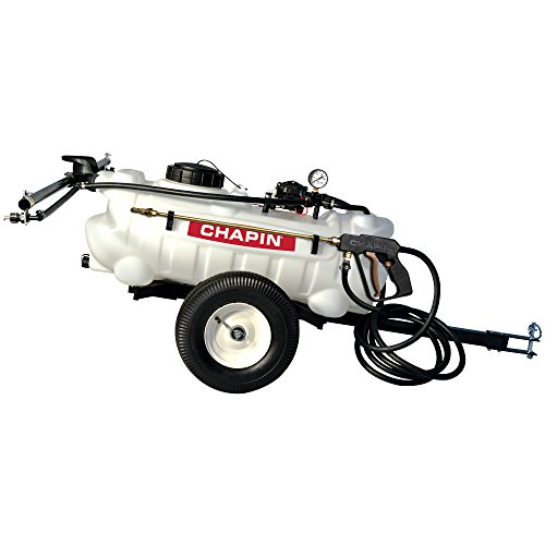 Chapin 97600 15-Gallon, 12-Volt EZ Tow Dripless Fertilizer, Herbicide...