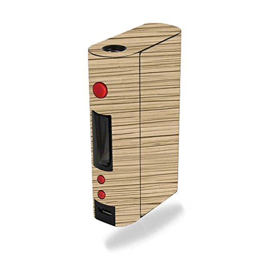 MightySkins Skin Compatible with Kanger KBOX 200W – Light Zebra Wood | Protective, Durable, and Unique Vinyl Decal wrap Cover | Easy to Apply, Remove, and Change Styles | Made in The USA