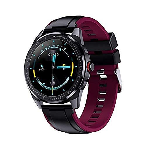 Reloj inteligente podómetro fitness tracker larga espera llamada recordatorio IP68 impermeable deportes pulsera