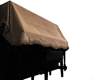 Clairevoire Upright Piano Dust Cover for standard vertical p