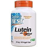 Doctor's Best | Lutein mit Optilut | 10 mg | 120 vegane Kapseln | Glutenfrei | Sojafrei