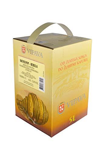 Bag in Box, Cuvée, Weißwein Rebula/Sauvignon