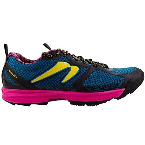 Newton Running Women's Boco at III Trail Running Shoe, Chaussures Femme, Bleu (Blue/Pink), 37 EU