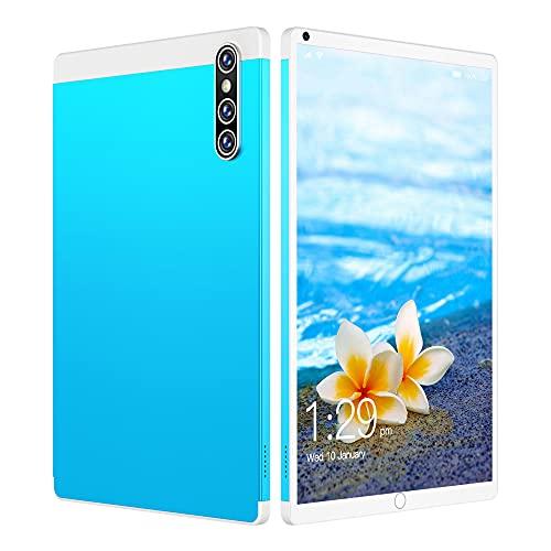 LINGOSHUN Tableta Android para Oficina/Viajes,Pantalla HD de 800 X1280, Batería de 4000 MAh, Soporte GPS,Wi-Fi Y Bluetooth,2 + 2MP Tablet/azul / 8.1 inch