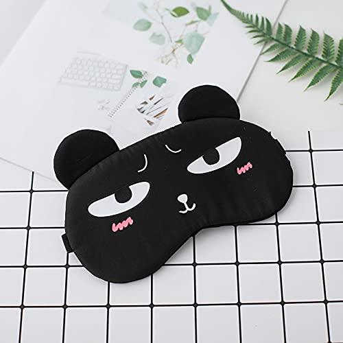 Ldd Máscara de Sombra de Ojos Cat Cat Eyepatch Dormir Mascar
