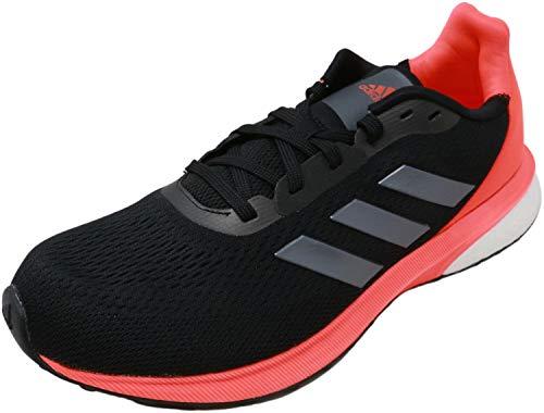 adidas Men's Astrarun Running Shoes Core Black/Night Metallic/Solar Red 10.5