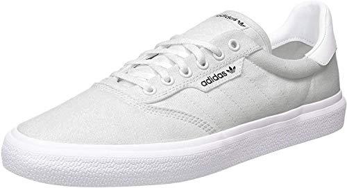 adidas Originals Damen 3MC Vulc Shoes Turnschuh, Hellgrau Heather Solid Grau/Hellgrau Heather Solid Grau/Weiß, 42 EU