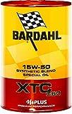 Bardahl 324040 Fulleren C60 XTC 15W50 Motoröl Auto 1 L