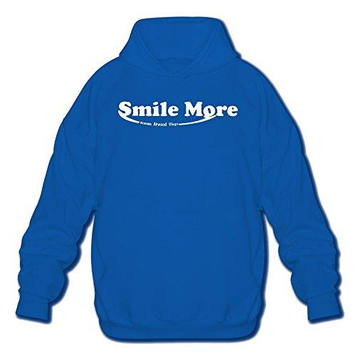 Anguoxia Men's Belt Sweatshirt Smile More Roman Atwood Parrot Logo Sports Hoodie
