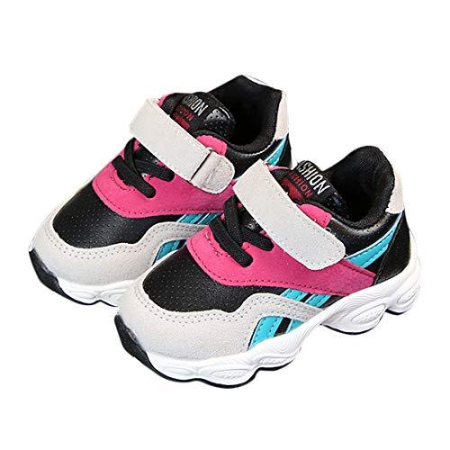 DEBAIJIA Niñas Niños Calzado Deportivo 2-5 Años Zapatos Tejido Neto Malla Casual Suave Moda Antideslizante Zapatillas Lindas Transpirable Caminar Al Aire Libre Tendencia Ligera del Pie Correr Turismo