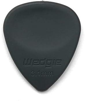 Wedgie Rubber Guitar Picks3.1mmMediumGrey3 pcs
