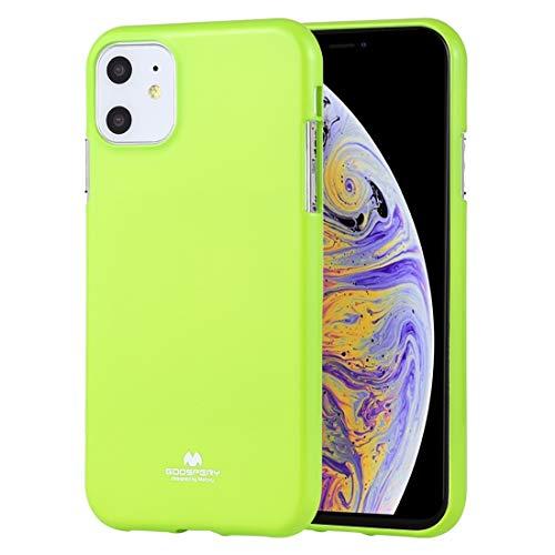 Wckxy Funda telefónica, Estuche a Prueba de Golpes y Scratch para iPhone 11 (Color : Green)