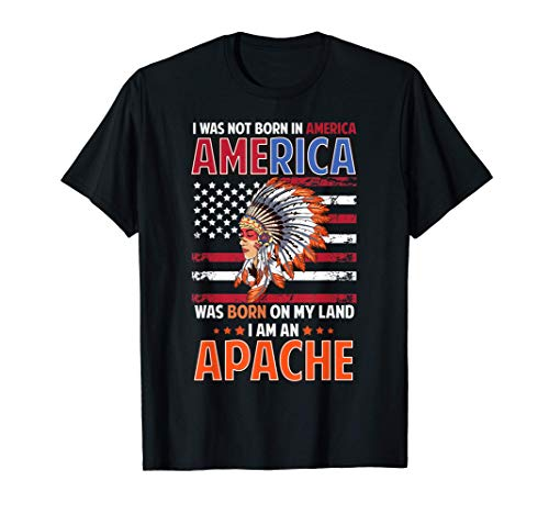 Diseño de mujer apache inspirado en la tribu apache de los n Camiseta