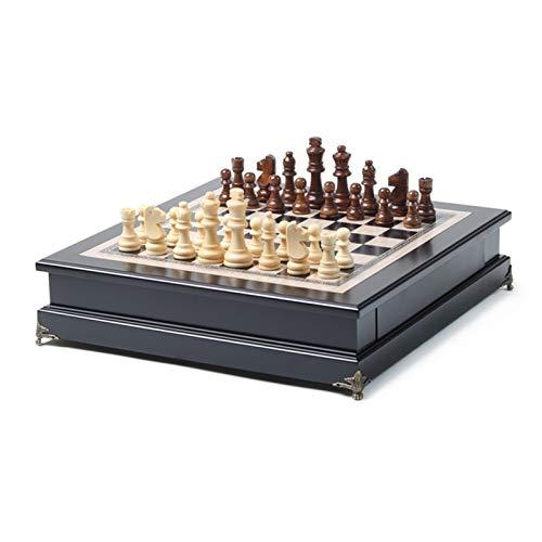Schach Großes Kind Erwachsene High-End Solid Musiker Schach Erwachsene Spiel Spezielle Ornamente Dekorative Dachfenster Tabelle