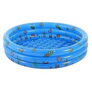 PPLAS Niños Inflable Piscina CLORURO DE POLIVINILO Niños Bañera Bañera Diversión Agua al Aire Libre Play Basin Ocean Balls Contenedor
