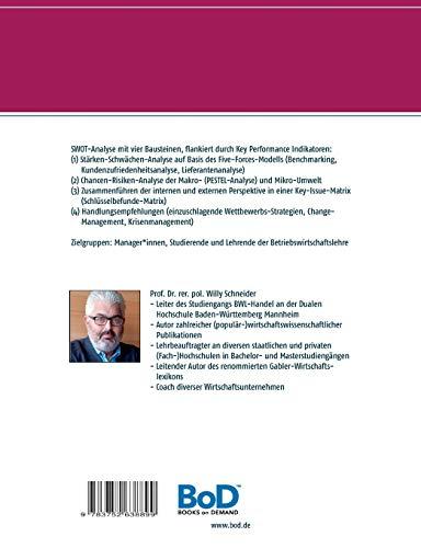 """Praxisleitfaden SWOT-Analyse: Stärken/Schwächen sowie Chancen/Risiken identifizieren und managen (Fachbuchreihe """"Management-Kompetenz kompakt"""", Band 1)"""