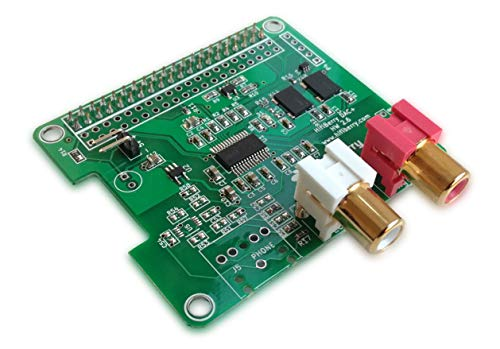HiFiBerry DAC+ Pro - High End Soundkarte für Raspberry Pi 2 Modell B/B+ / A+ mit Cinch Anschlüssen