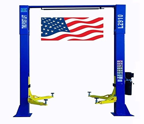 CHIEN RONG CR L2910 220V Overhead Two Post Lift 9,000 lbs Capacity Car Auto Truck Hoist