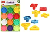 Product 1: Toys and Games Product 1: Fundoh fun pack - 12 pieces, ideal dough to create ample fun stories Product 1: Roll, mold and extrude lots of fun shapes and exciting creations with Fun Doh clay toys from Funskool. Unleash your creative juices t...