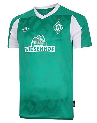 UMBRO Werder Bremen Heimtrikot 20/21 Kinder grün - YXL