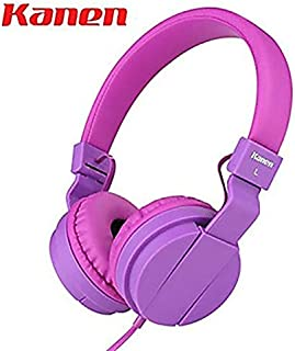 XGCCDAU Sound Kanen IP-950 Stereo Folding Stretchable Headphones Adjustable Headband Headset Kids Earphones or Adults Lightweight Headsets with Mic for iPhone/ipad/Tablet/Laptop
