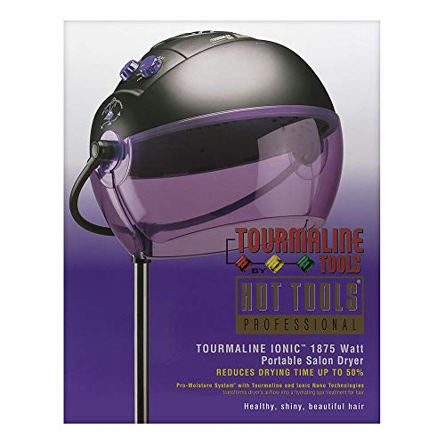 Tourmaline Tools 1059 by Hot Tools Professional Tourmaline Ionic 1875 Watt High Heat Portable Salon Dryer