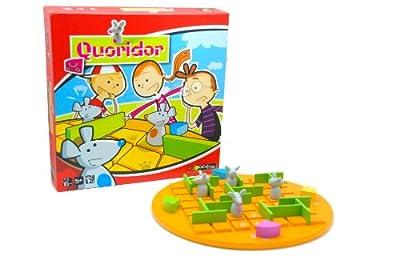 Gigamic - QUOKID - Jeu de Stratégie pour Enfant - Quoridor Kid