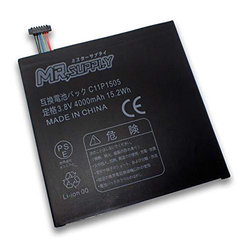 ASUS ZenPad 8.0 (Z380M) (Z380C) (Z380KL) P022 P024 P00A タブレット 交換用互換バッテリー C11P1505