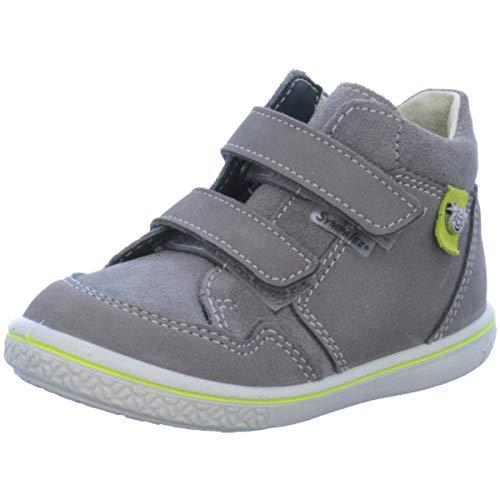 RICOSTA , Baskets pour garçon Gris Graphit/Lime - Gris - gris, 20 EU