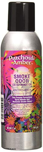 Patchouli Amber Smoke Odor Exterminator and Air Refreshener,