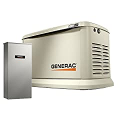 5-Year limited Warranty for automatic standby generators. Up to whole house protection with the 200 Amp, NEMA 3R (aluminum outdoor enclosure) smart switch Smart, User-friendly controls. Generac's evolution controller features a multilingual LCD displ...