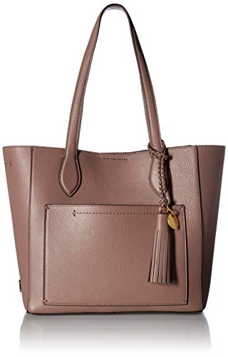 Cole Haan Piper Small Leather Tote Bag, Twilight Mauve