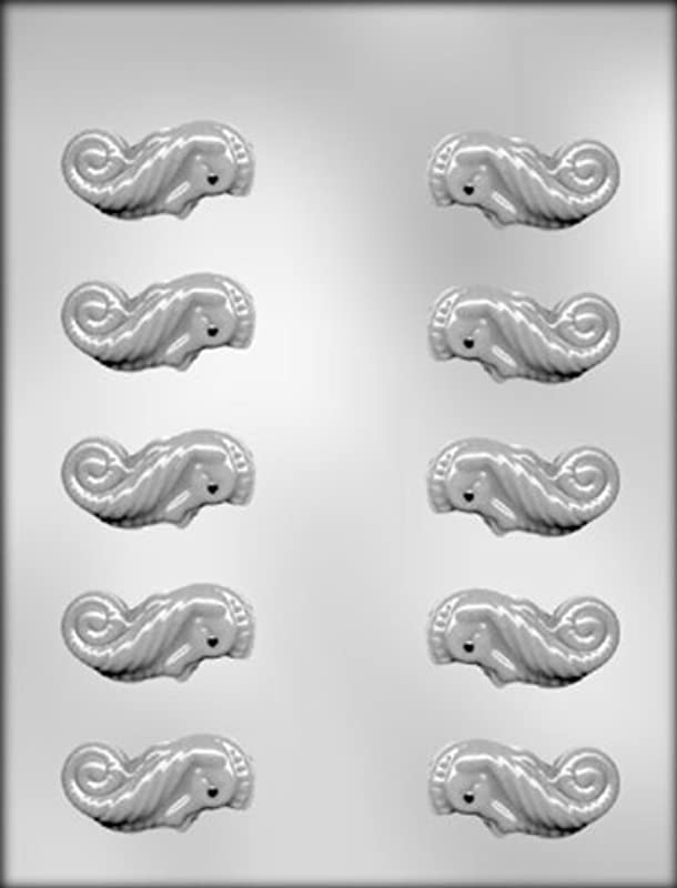 CK Products 3 D Mini Sea Horse Chocolate Mold