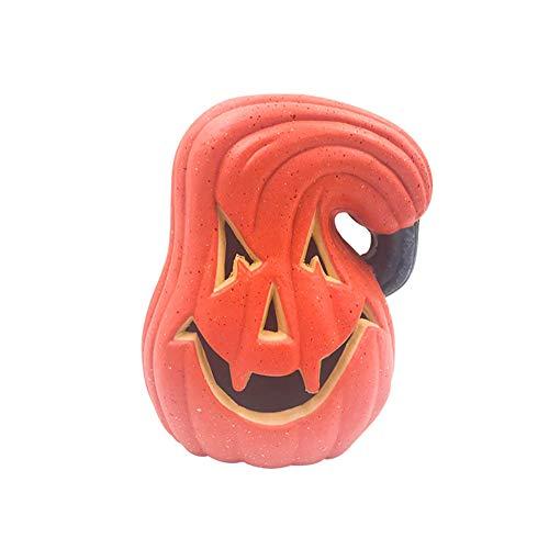 HSDCK Halloween Decoratieve Lantaarn Pompoen met Licht - Halloween Outdoor Lantaarns Decoratief voor Veranda, Feest, Voordeur, Open Haard Decoraties