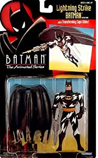 Batman the Animated Series Lightning Strike Batman with Cape Glider