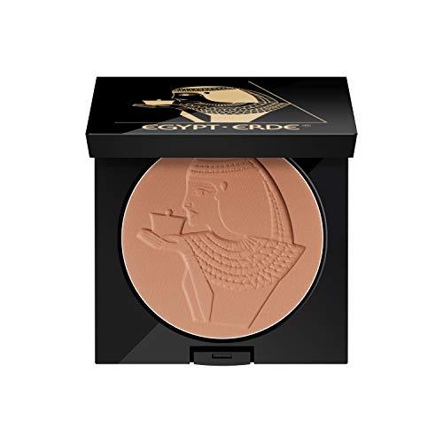 Cutifem Egypt-Erde Compact Puder No. 1 Bronze Terracotta Pearl - Pflegendes, Veganes Make-Up...