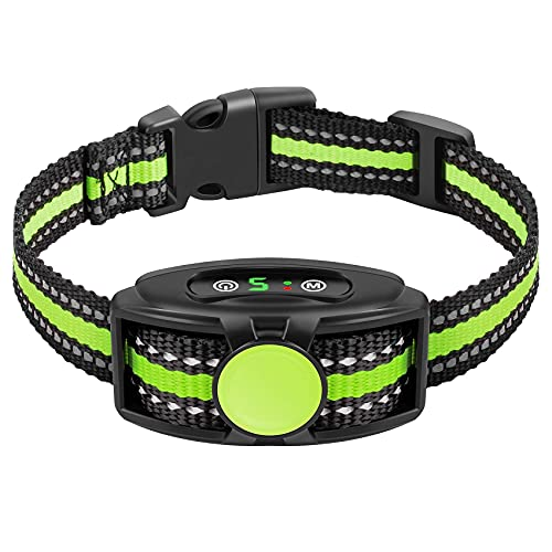 Bark Collar Rechargeable with Beep Vibration Without Shock
