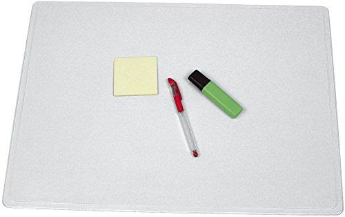 Q-Connect KF26801 - Sottomano senza pellicola trasparente, 63 x 50 cm, completamente antiriflesso, trasparente