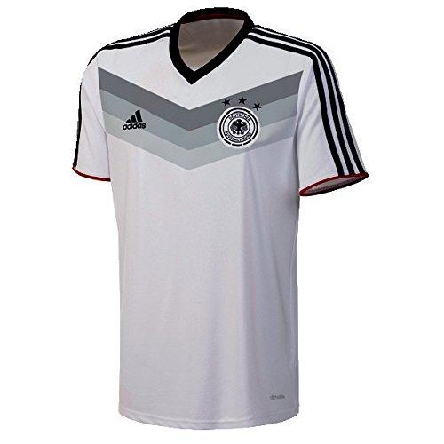 adidas Herren Trainingsshirt DFB Replica WM, Weiß/Schwarz, M
